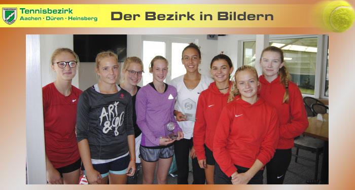 Bezirkspokal - Tennisbezirk ADH Pokalfinale 2017 Mädchen